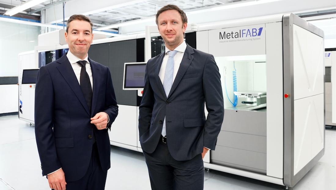 Additive Industries' MetalFAB1 3D Printer Flies into Airbus