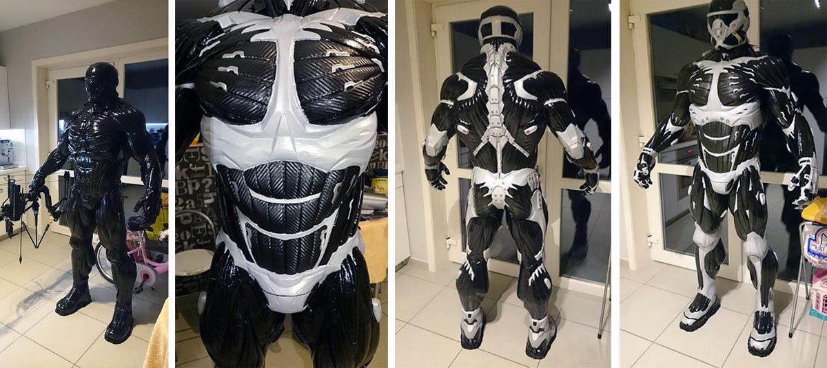 From Video Game to Full-Sized 3D Printed Suit - 3D Printing Industry