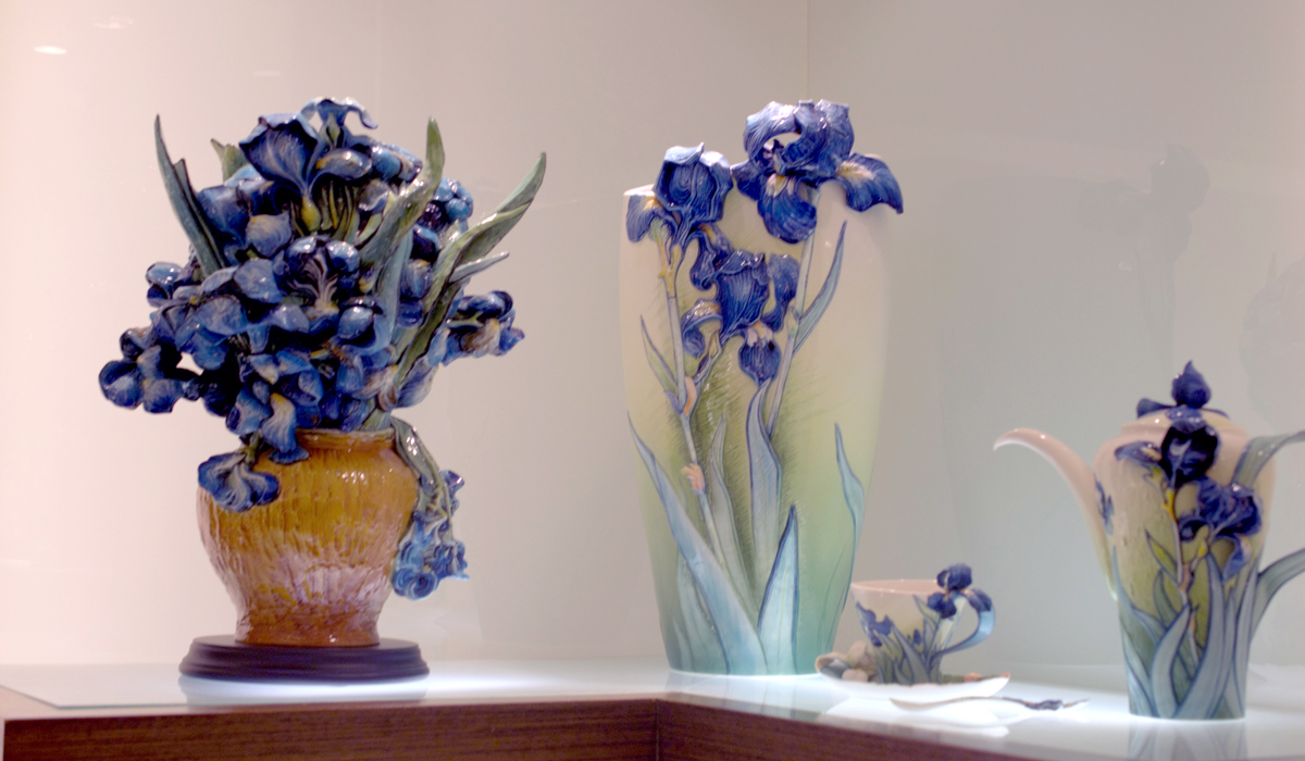 franz collection inc uses 3D printing for making porcelain products van gogh