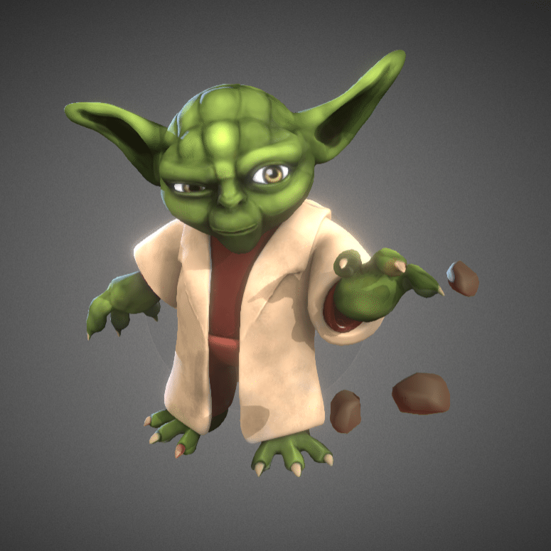 image about Yoda Printable identify No cost 3D Printable of the 7 days: Yoda - 3D Printing Market place