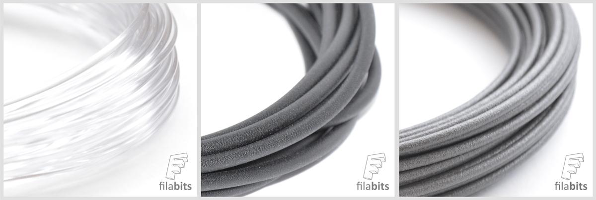 lulzbot specialty 3D printing filabits