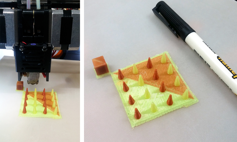 olmo 3D printhead former's farm