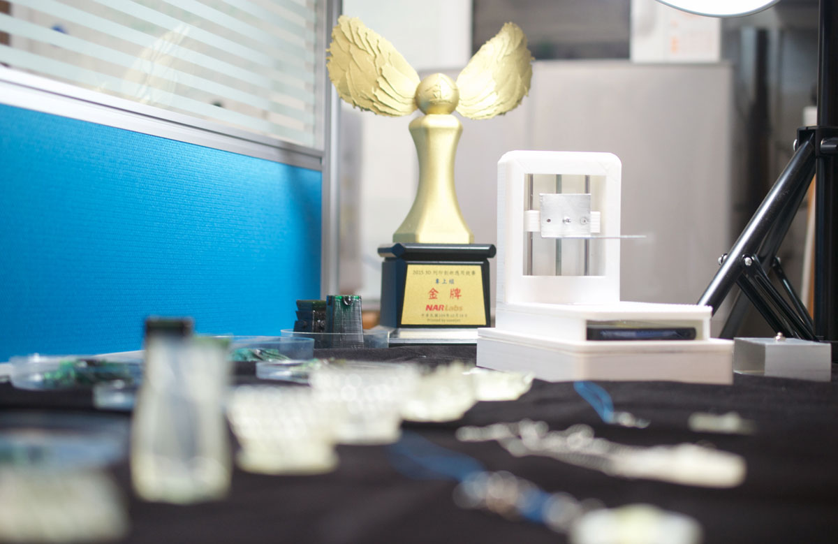 phone 3D printer from taiwan tech with parts