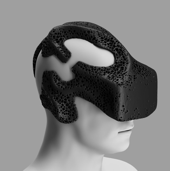 MHOX Envisions Symbiotic VR with 3D Printed VR-mask