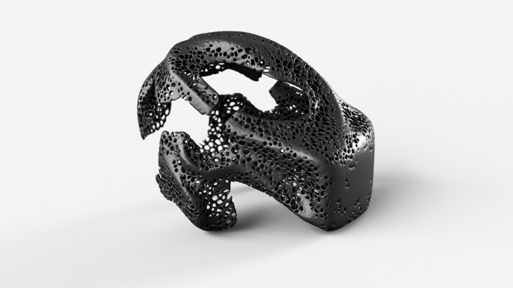 MHOX Envisions Symbiotic VR with 3D Printed VR mask 3D