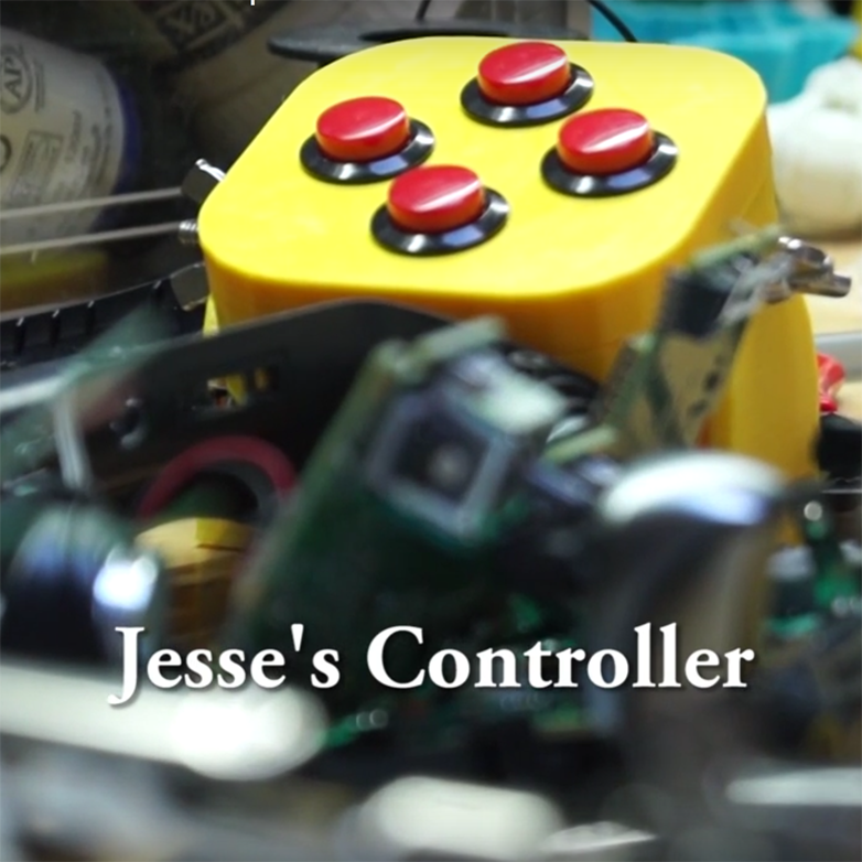 3D printed foot controller for Xbox One disabled gamer
