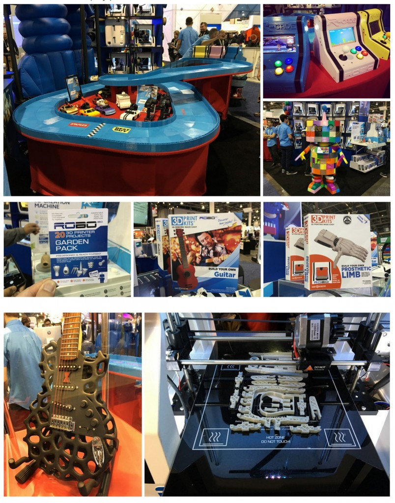 3D printing at CES 2016 from john biehler 6