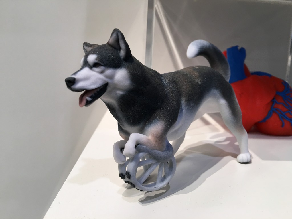 3D printing at CES from john biehler derby dog