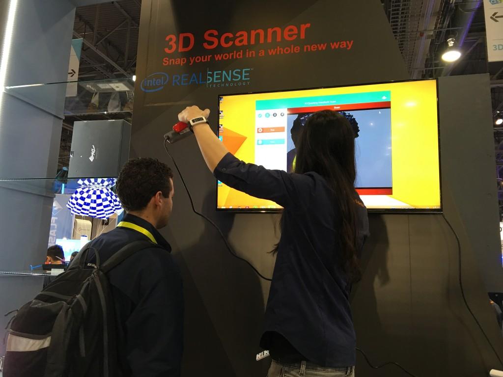 3D printing at CES from john biehler real sense