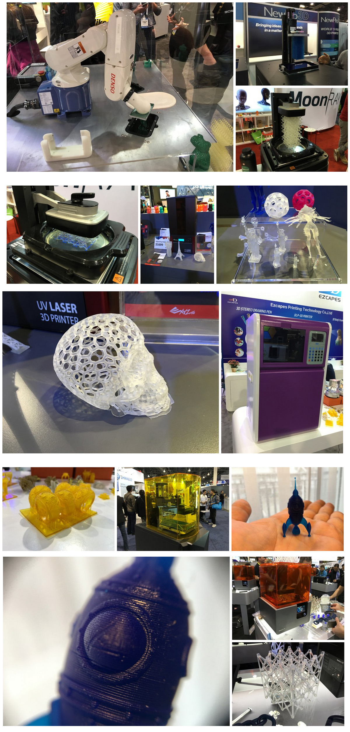 3D printing at CES from john biehler