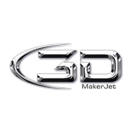 3Dmakerjet 3D printing logo