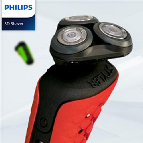 3d printed phillips shaver in holland