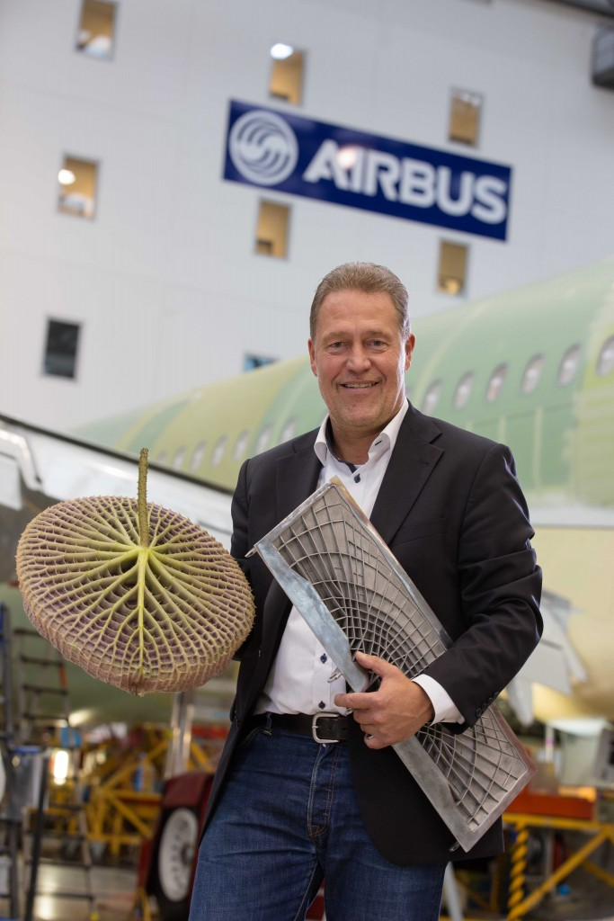 Airbus Peter Sander mit BioSpoiler