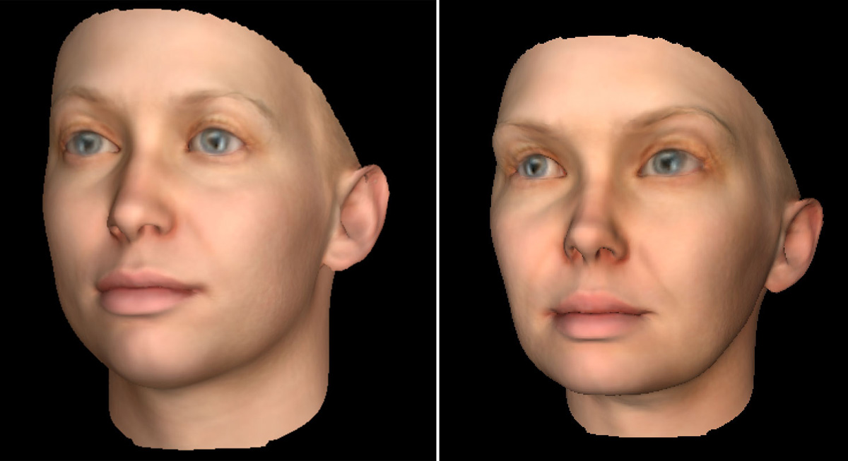 Heather Dewey-Hagborg DNA face models for 3D printing Chelsea Manning's face