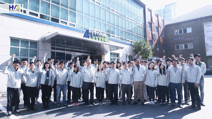 HyVision 3D printing Company and some employees