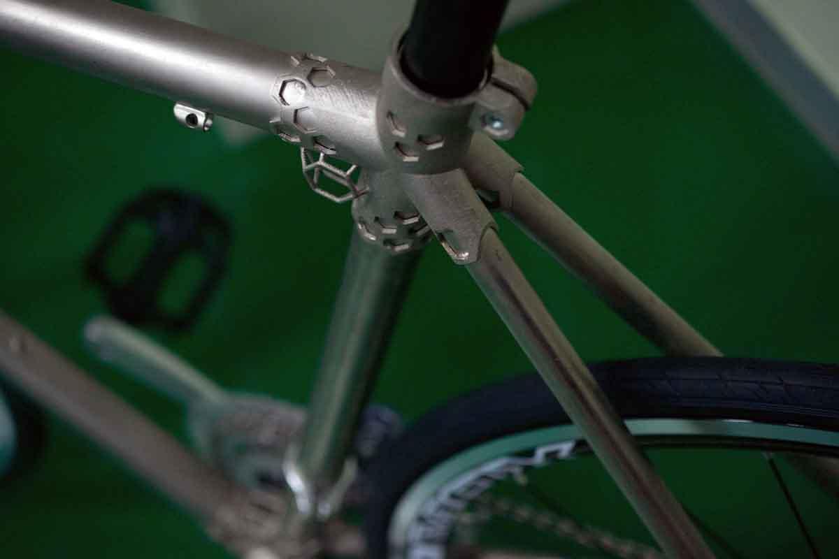 ITRI optical engine metal 3D printer 3D printed bike parts