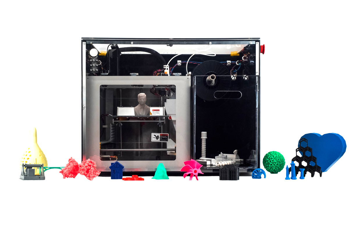 NVBOTS NVPro 3D Printer with parts