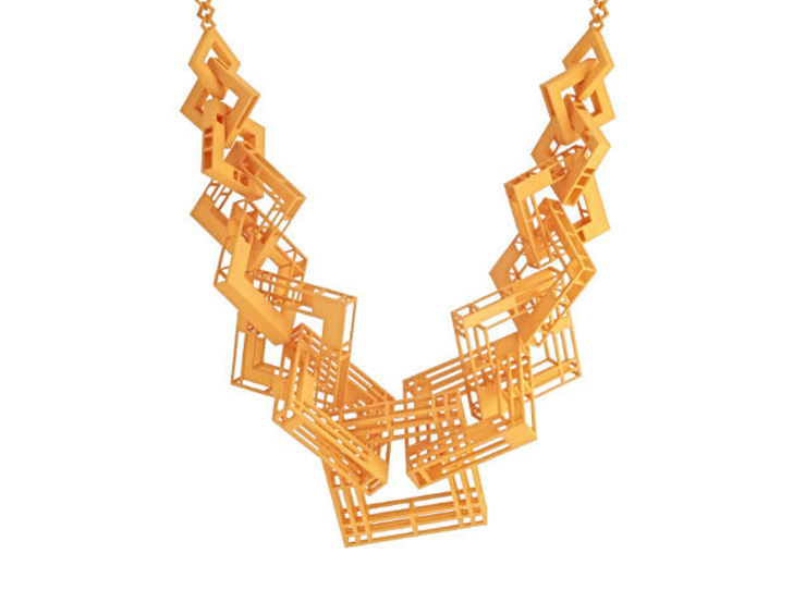 William Stanley 3D printed necklace