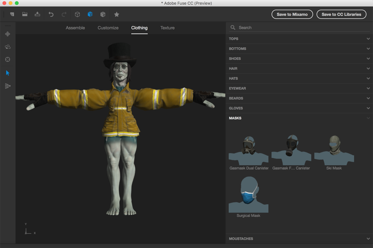 Adobe Fuse Makes 3d Modeling Complex Characters Simple