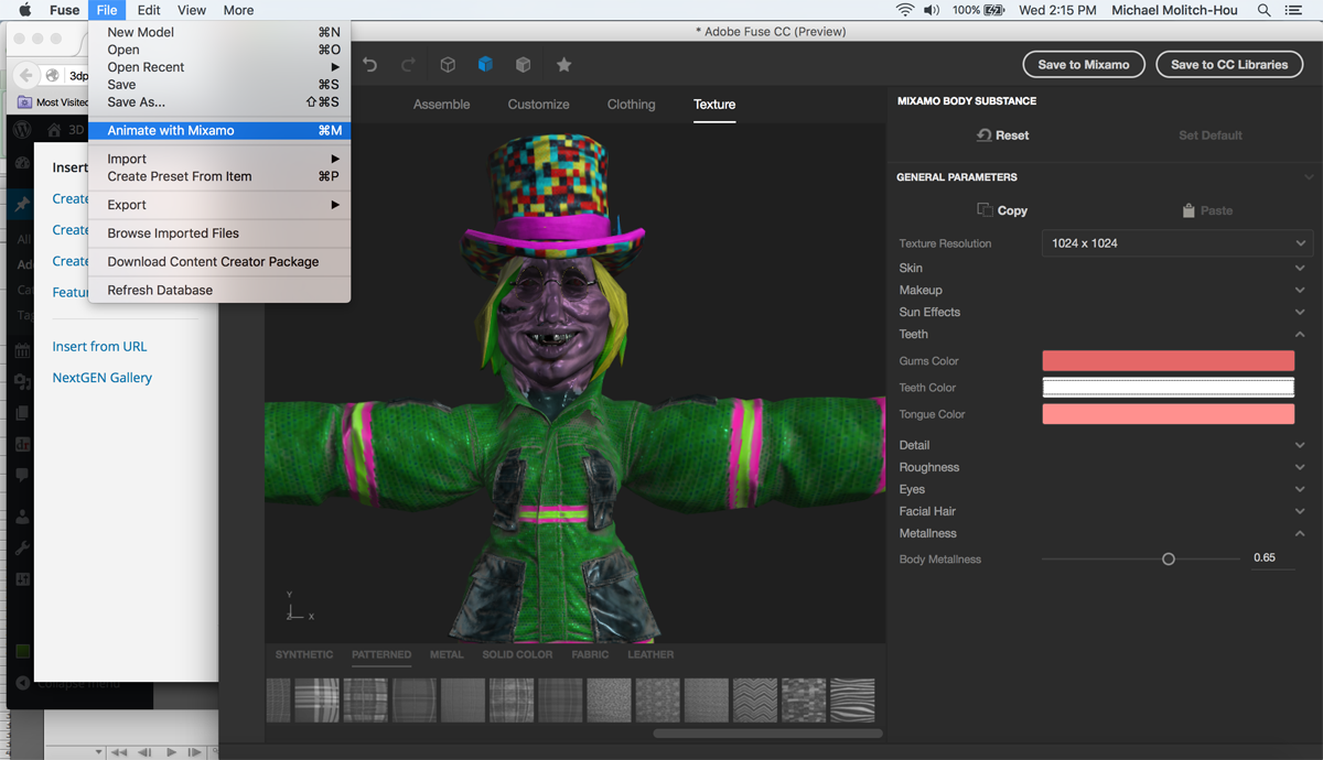 Adobe fuse makes 3d modeling complex characters simple Online modeling program