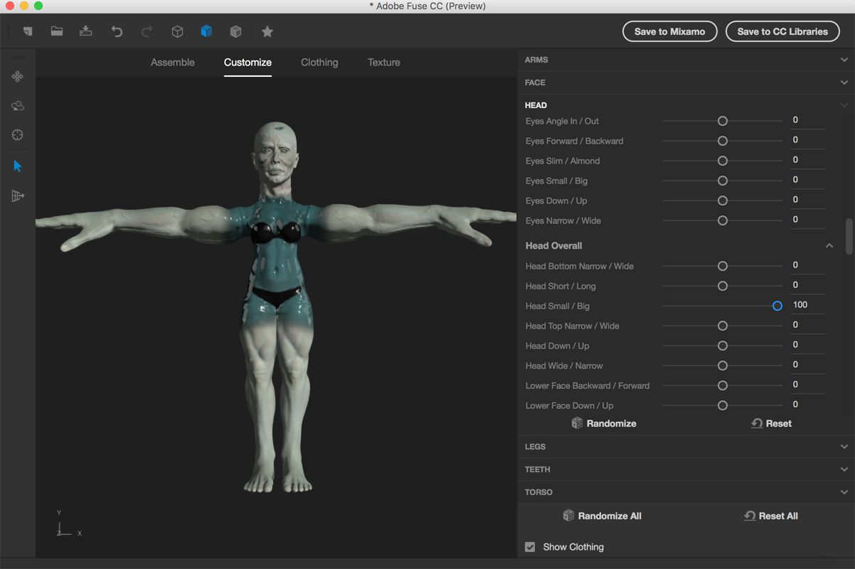 Adobe Fuse Makes 3D Modeling Complex Characters Simple - 3D