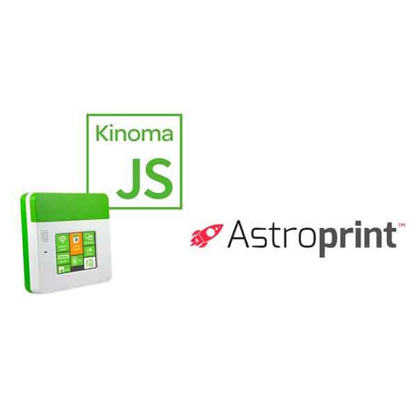 astroprint marvell's kinomajs 3D printing app