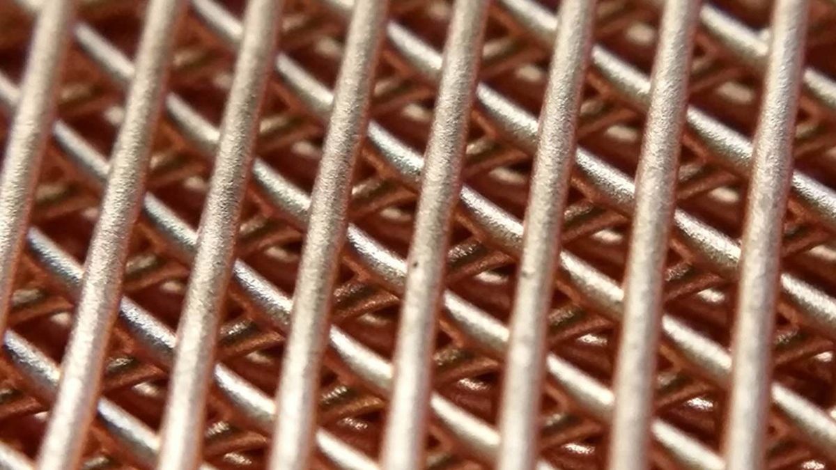 copper metal 3D print from Northwestern researchers