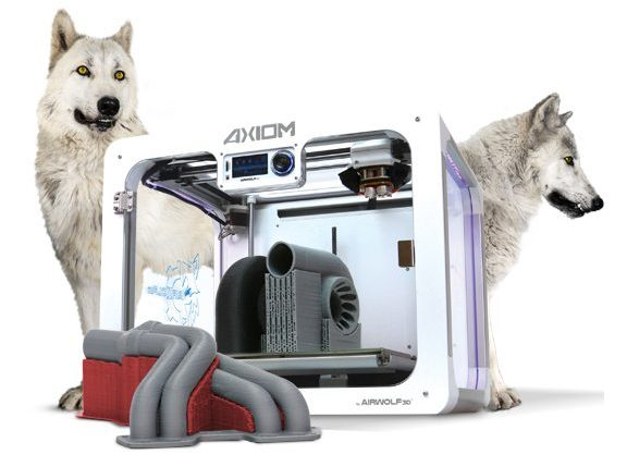 The Airwolf 3D Axiom 3D printer range. Image via Airwolf 3D