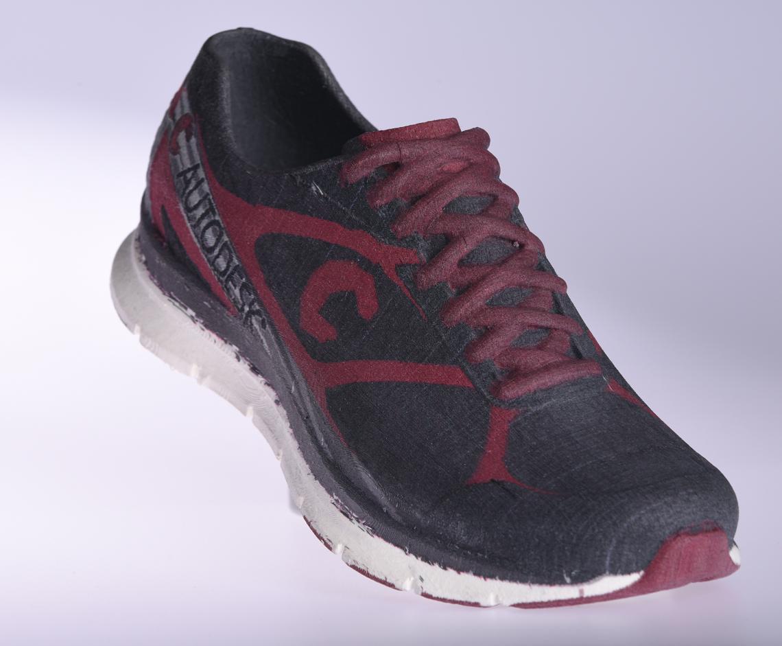 mCor ARKe consumer full-color 3D printer 3D printed shoe