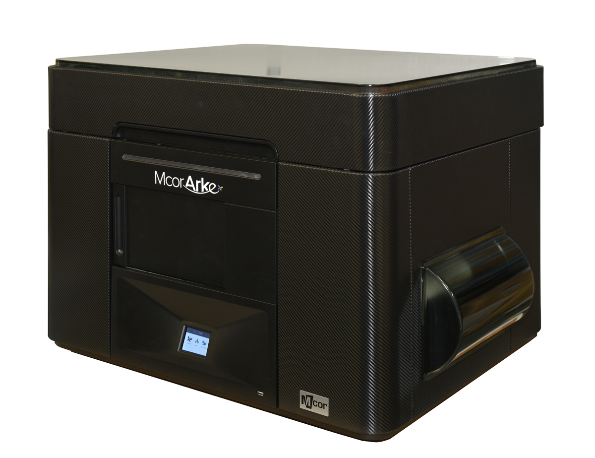 mCor ARKe consumer full-color 3D printer black skin