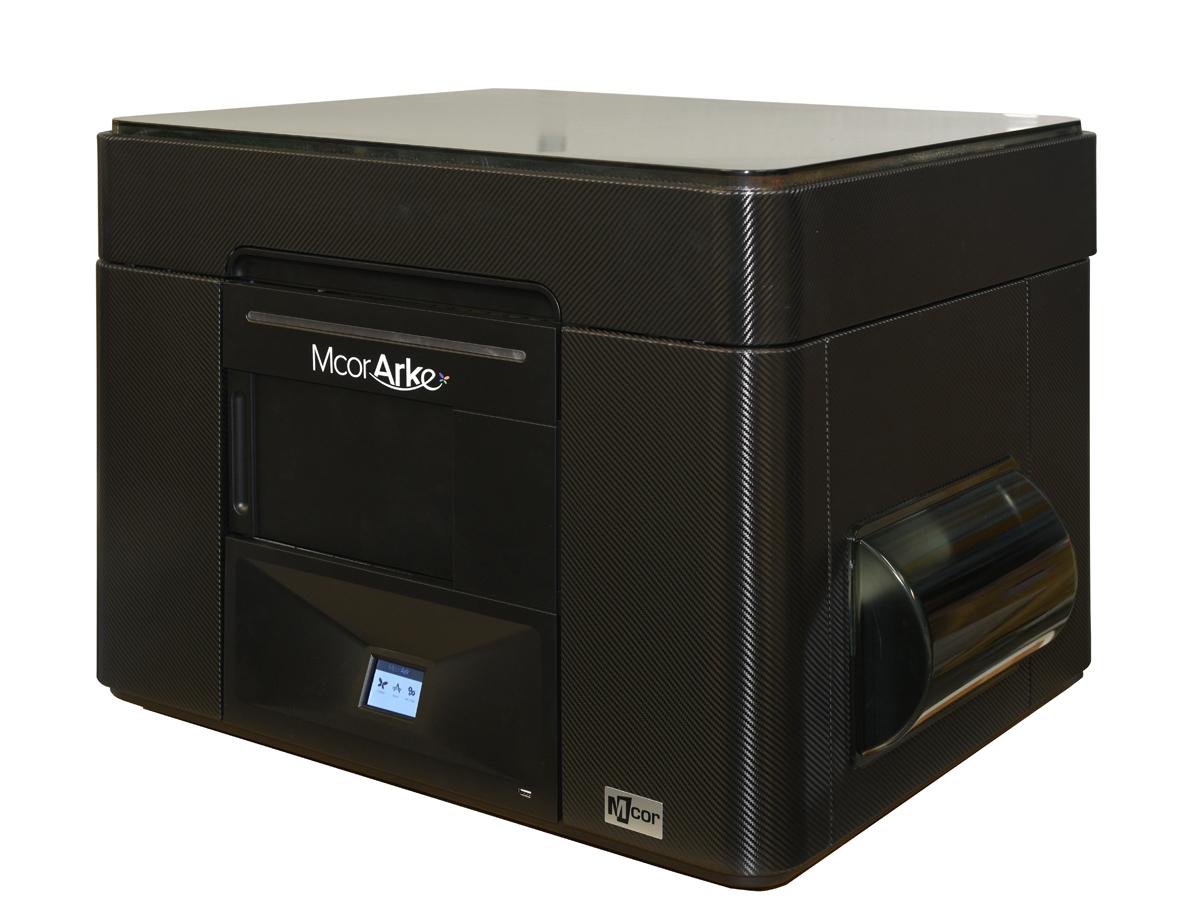 mCor ARKe consumer full-color 3D printer black skin