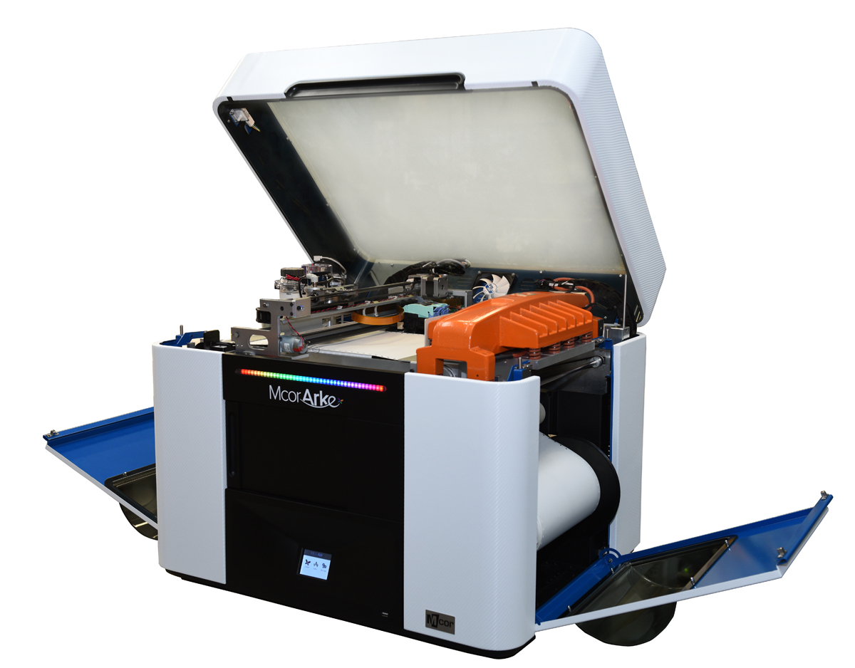 mCor ARKe consumer full-color 3D printer open