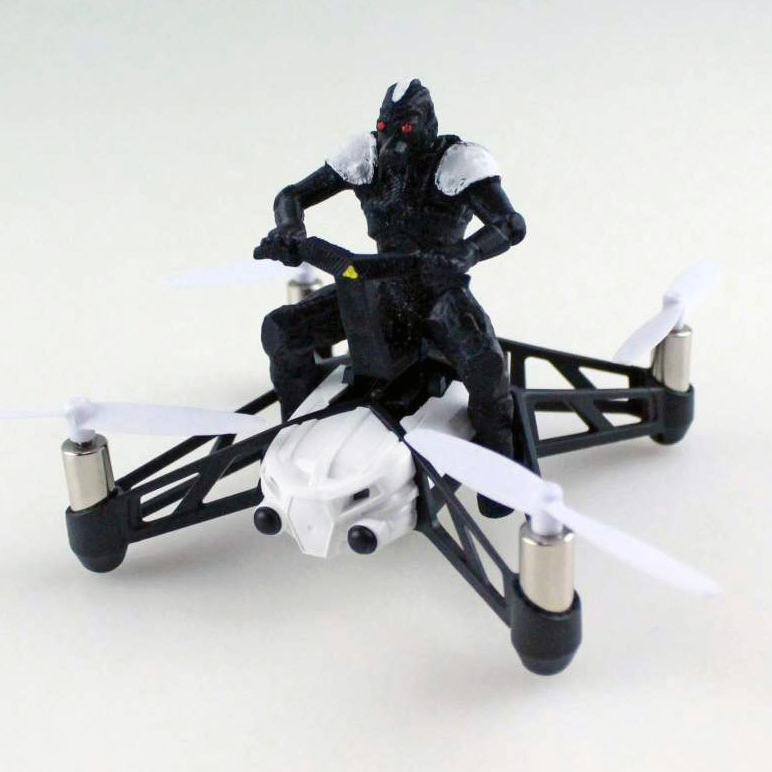 myminifactory parrot 3D printing competition drone with guy