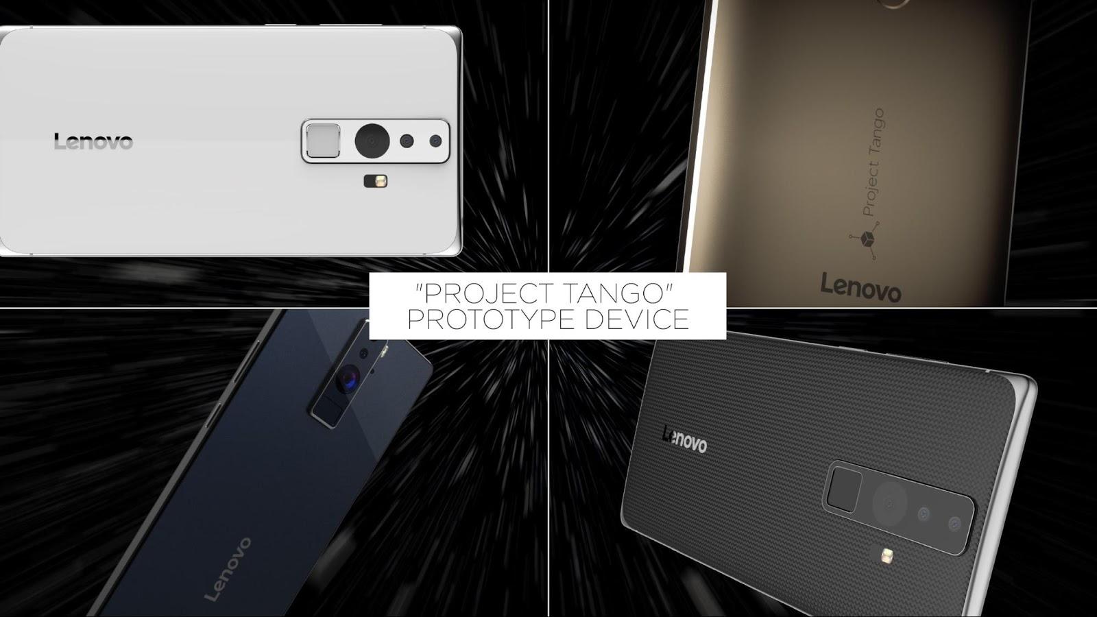 project Tango smartphone prototype
