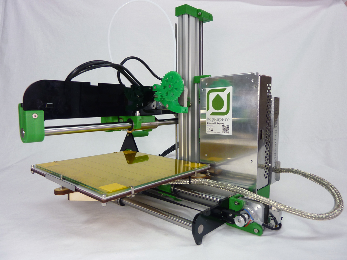 reprap ormerod 3D printer from reprappro