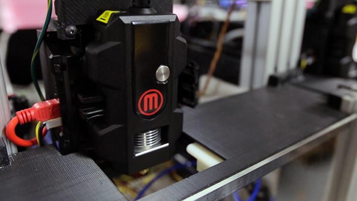 testing makerbot smart extruder+ for 3D printing