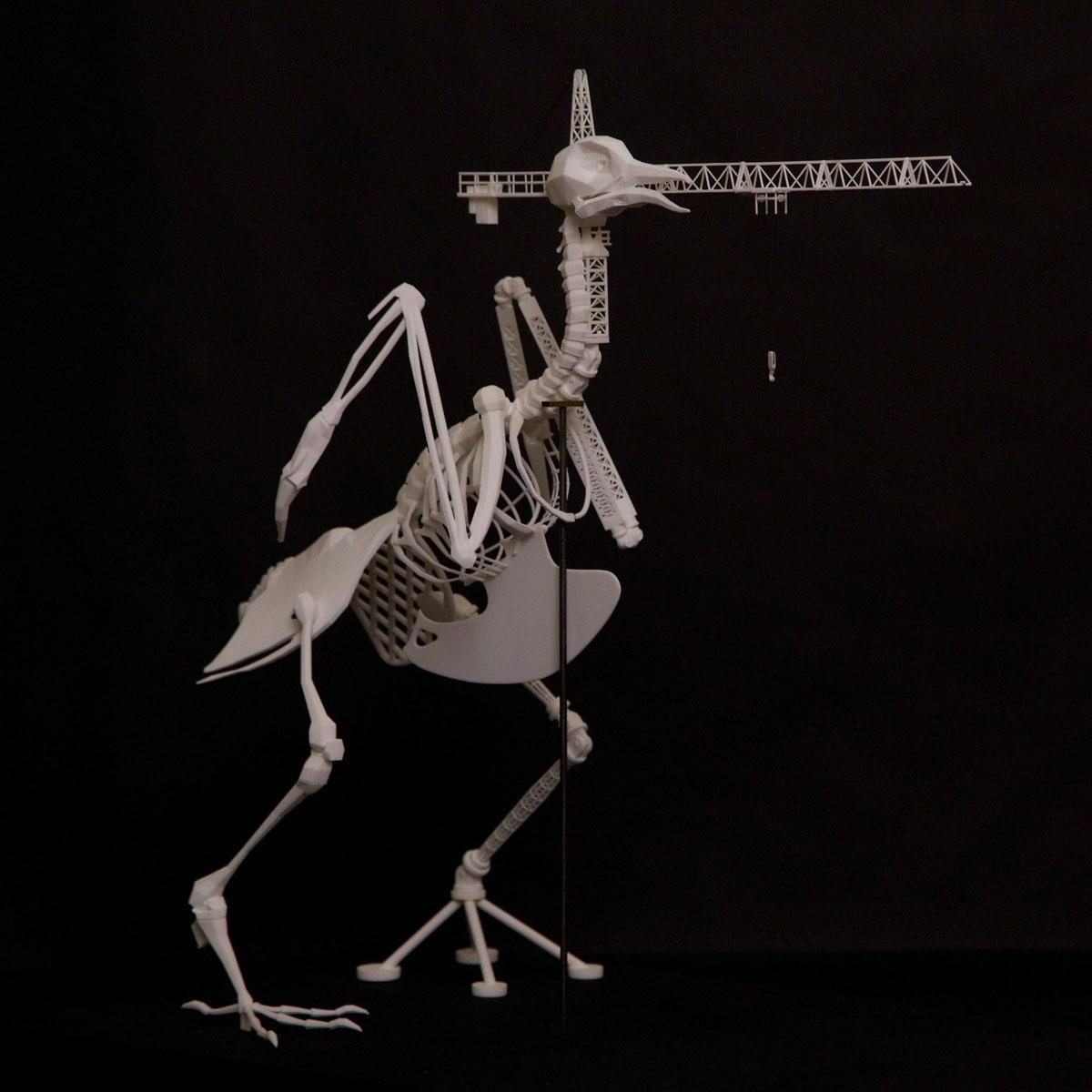 william-stanley 3D printed skeletecture-sculpture