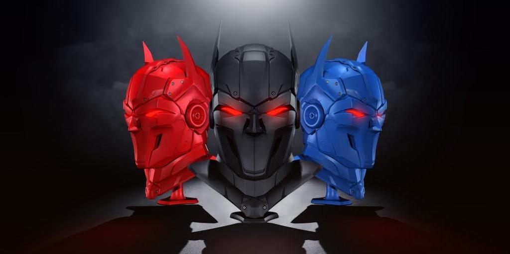 zortrax 3D printed super hero different colors