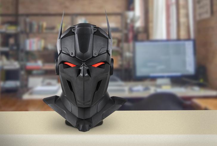 zortrax 3D printed super hero