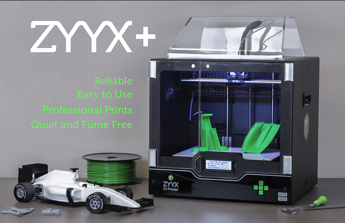 zyyx+ 3D printer from magicfirm