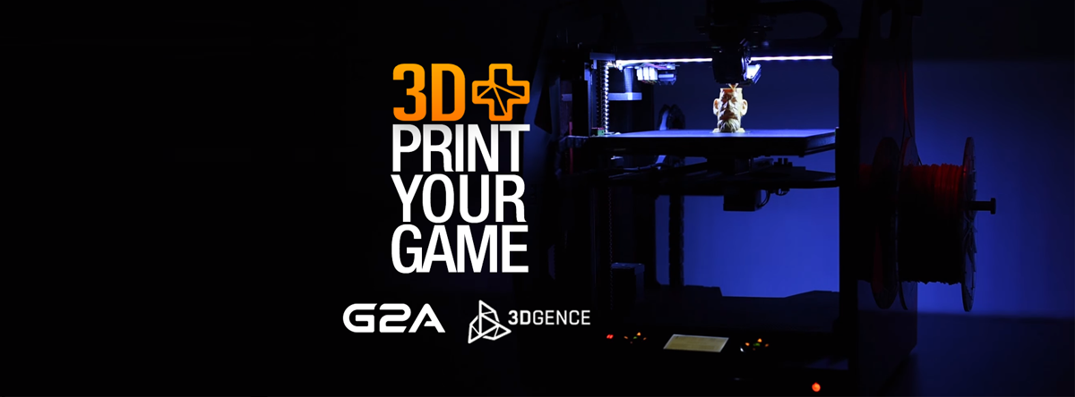 3D Printing Gaming Merge in G2A 3D+ Project