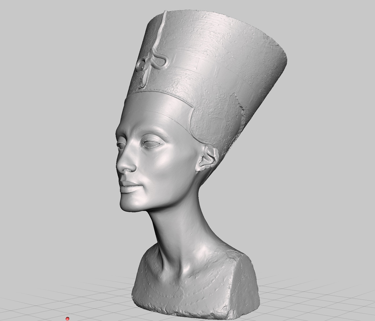 3D printable nefertiti hack