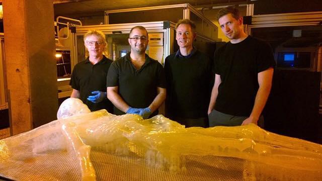 3D printed iceman