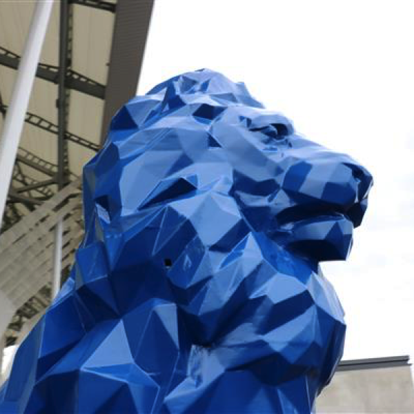 3D printed lion by drawn 2