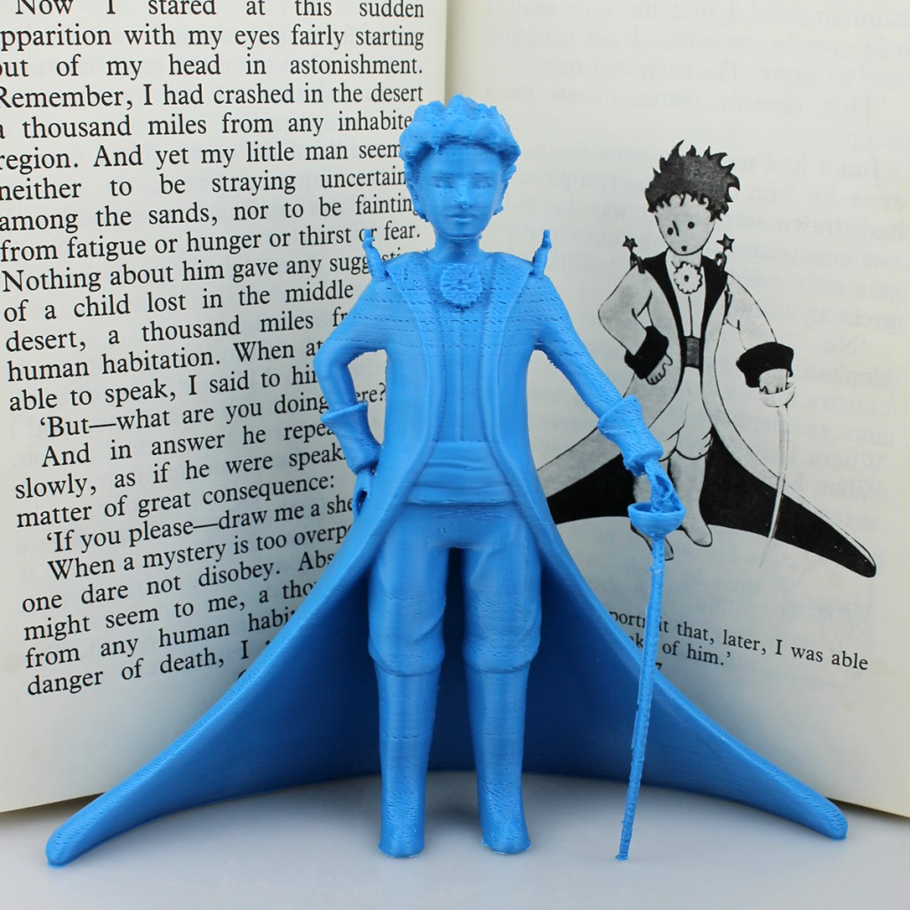 3D model of The Little Prince