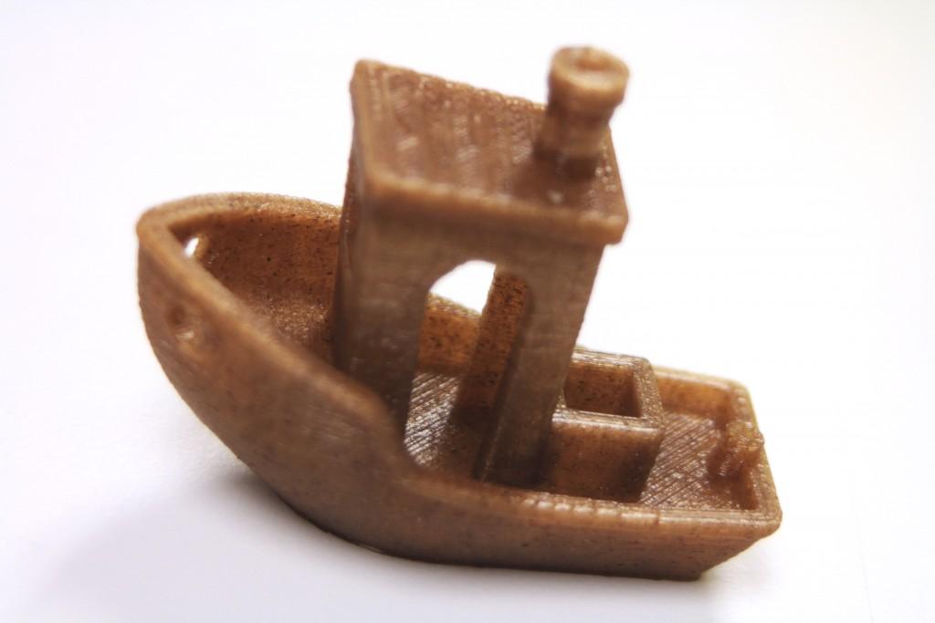3dom usa entwined hemp 3D printing filament 3D print