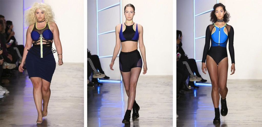 Chromat Fashion Show, Ready To Wear Collection Fall Winter 2016 in New York, via Now Fashion.