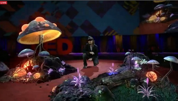 HoloLens TED 2016 magic forest