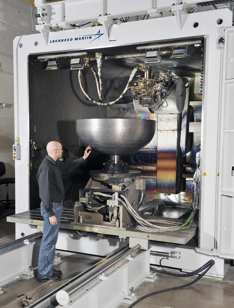 Lockheed Martin EBAM 3D printer Sciaky from AM Magazine
