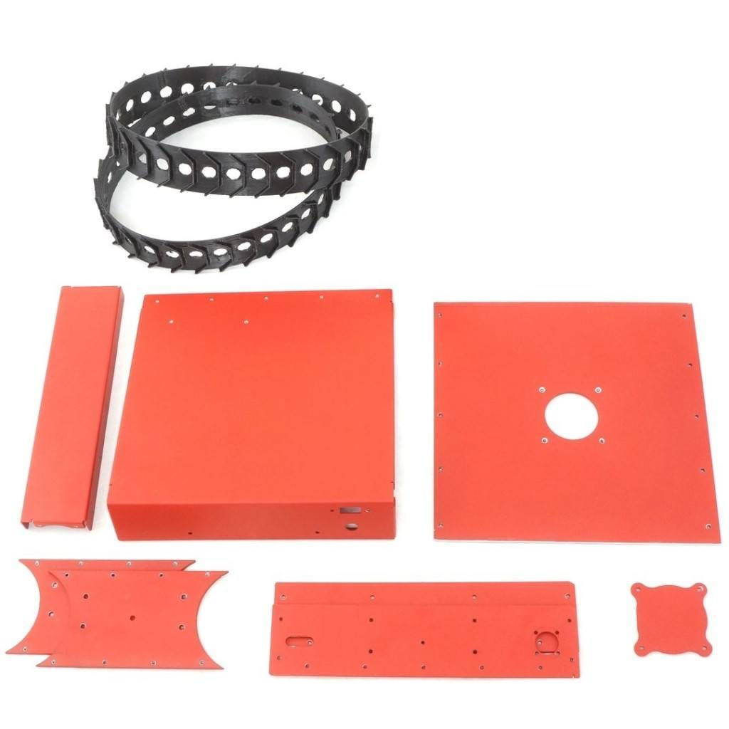 Printrbot Tank parts for 3D printed RC tank